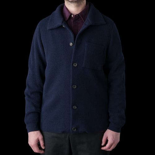 Jiri Knit Jacket in Navy