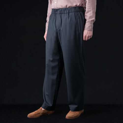 Talung Wide Trouser in Midnight