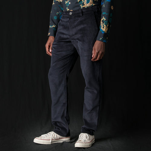 Kaschgai Trouser in Deep Navy