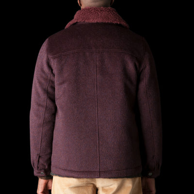 A Kind Of Guise - Birat Jacket in Burgundy