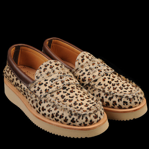 Penny Loafer in Leopard