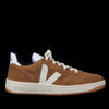 Veja - V-10 in Brown Pierre