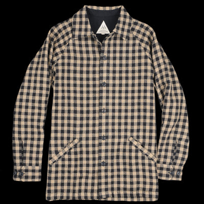 Umber & Ochre - Sammy Raglan Shirt in Wool Plaid