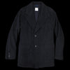 Ts(S) - Dobby Boa Lined Square Hem Jacket in Navy