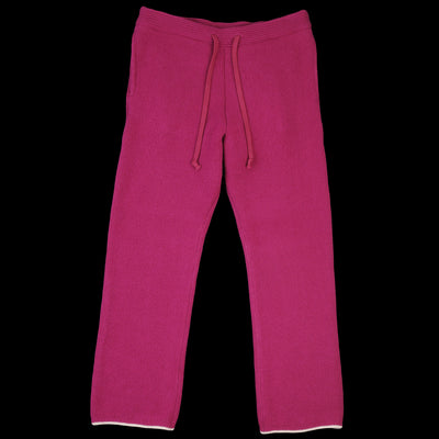 ts(s) - Cooma Lambswool Cotton Double Face Knit Pant in Pink Purple