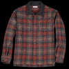 Tomorrowland - Mix Tweed Blouson Shirt in Brown