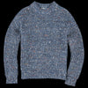 Tomorrowland - Jumbo Mix Nep Sweater in Blue