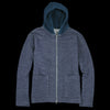 Tomorrowland - Bias Fleece Hooded Knit Cardigan in Navy