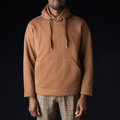 Super Light T Hoodie in Brown