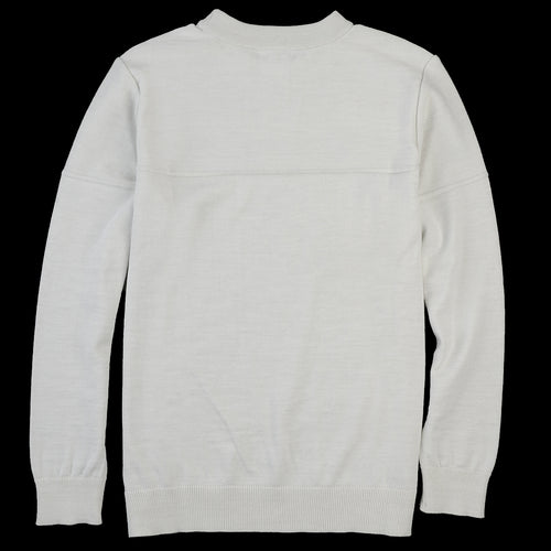 Fatum Crew Neck in White Open