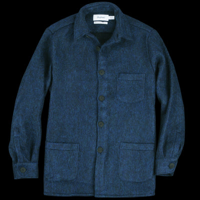 Schnayderman's - Overshirt Mohair One in Blue