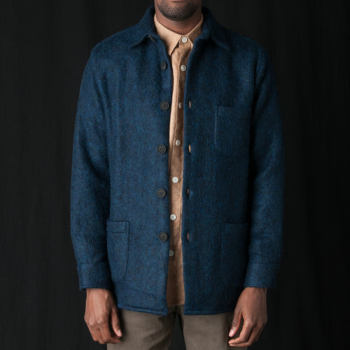 Overshirt Mohair One in Blue