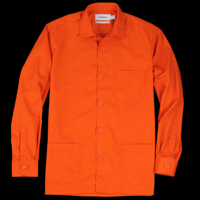 Schnayderman's - Overshirt Tech Twill in Orange