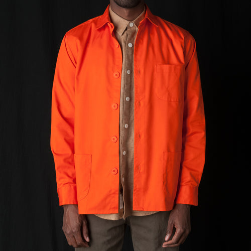 Overshirt Tech Twill in Orange