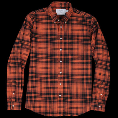 Schnayderman's - Shirt Twill Large Check in Rust & Black