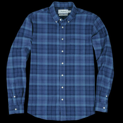 Schnayderman's - Shirt Twill Large Check in Blue