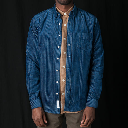 Shirt Corduroy One in Blue
