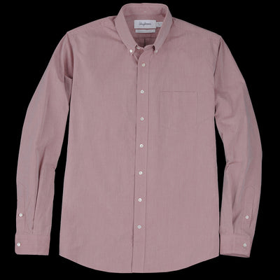 Schnayderman's - Shirt Pinpoint One in Burgundy
