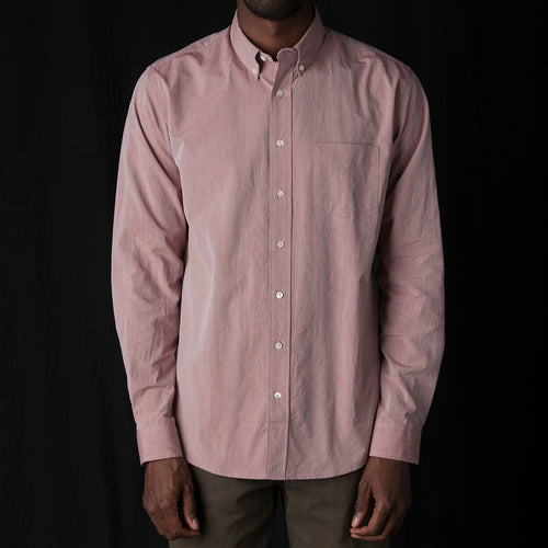 Shirt Pinpoint One in Burgundy