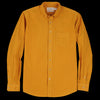 Schnayderman's - Shirt Poplin Garment Dyed in Mustard
