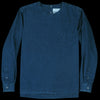 Schnayderman's - T-shirt Denim Long Sleeved in Navy