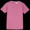 Schnayderman's - T-shirt Poplin Garment Dyed in Pink