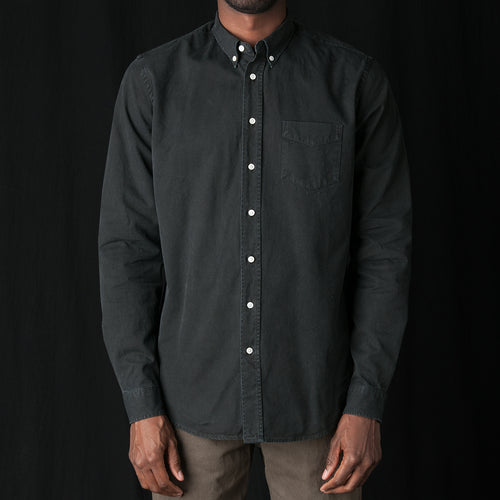 Shirt Overdyed One in Black
