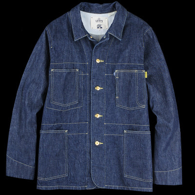 Levi's Made & Crafted - Poggy Sack Coat in Rinse