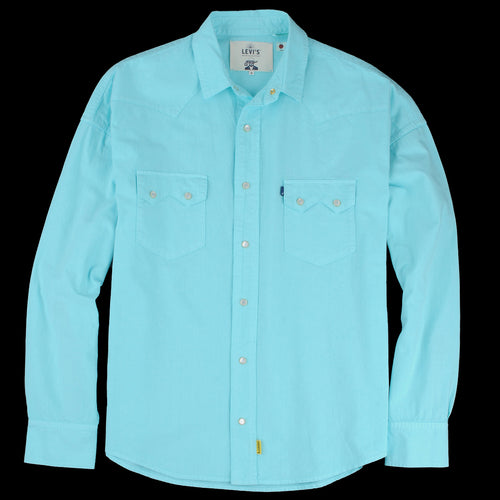 131ca471 Levi's Made & Crafted - Poggy Western Shirt in Blue