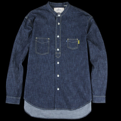 Levi's Made & Crafted - Poggy Work Shirt in Rinse