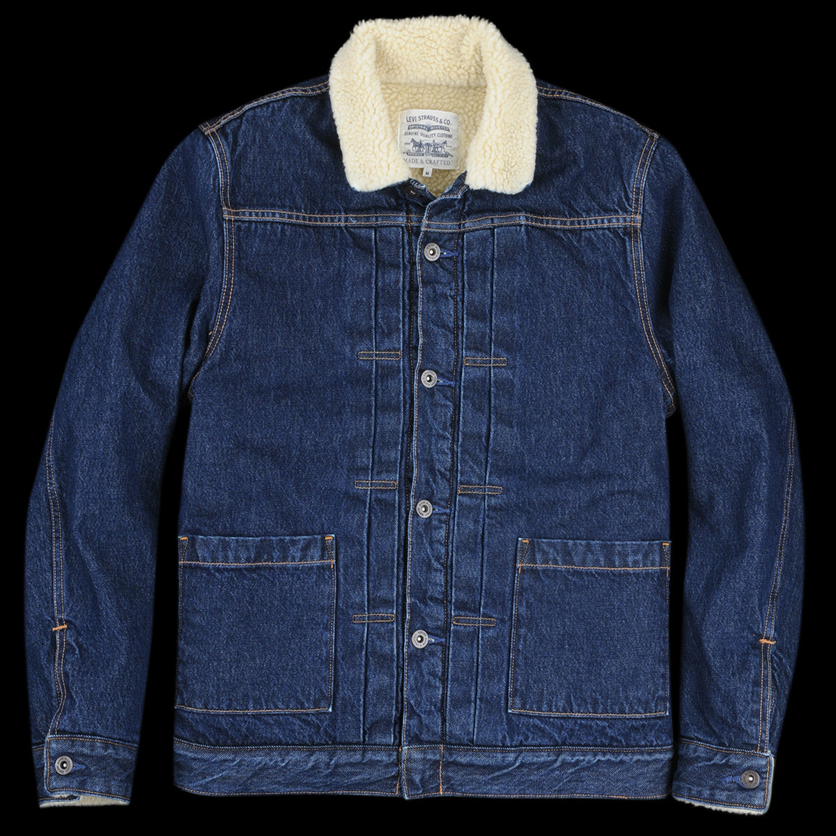 Canyon amp; Type Levi's Sherpa Crafted Truck Made In Ii qwqxHt