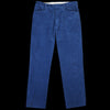 Levi's Vintage Clothing - Sta-Prest Trouser in Dark Blue Cords