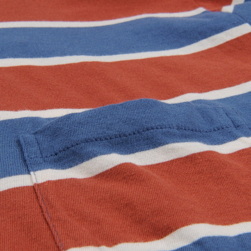 1960's Casuals Stripe in Dark Denim Multi