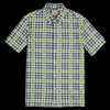Levi's Vintage Clothing - 60's Short Sleeve Button Down in Houndstooth Multi