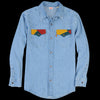 Levi's Vintage Clothing - 70's Denim Shirt in Tipper Tone