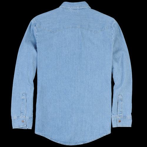 70's Denim Shirt in Tipper Tone