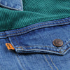 Levi's Vintage Clothing - Orange Tab Trucker in Shock Hop