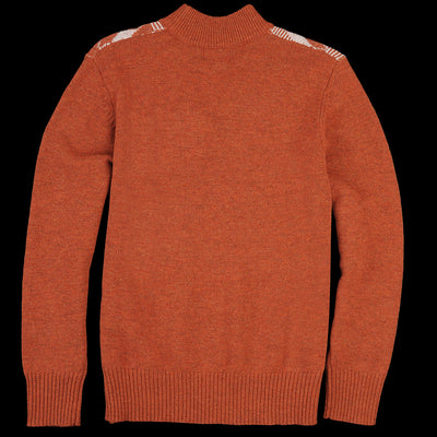 Levi's Vintage Clothing - Turtleneck in Cubes Rust