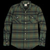 Levi's Vintage Clothing - Shorthorn Shirt in Bottle Green Multi