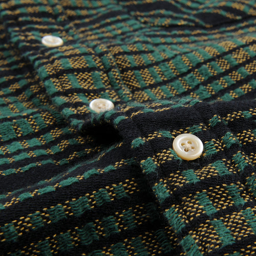Shorthorn Shirt in Bottle Green Multi