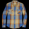 Levi's Vintage Clothing - Shorthorn Shirt in Ecru Multi