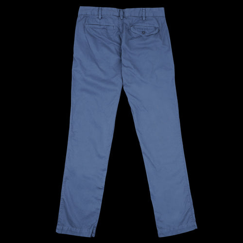 Light Twill Trouser in Blue