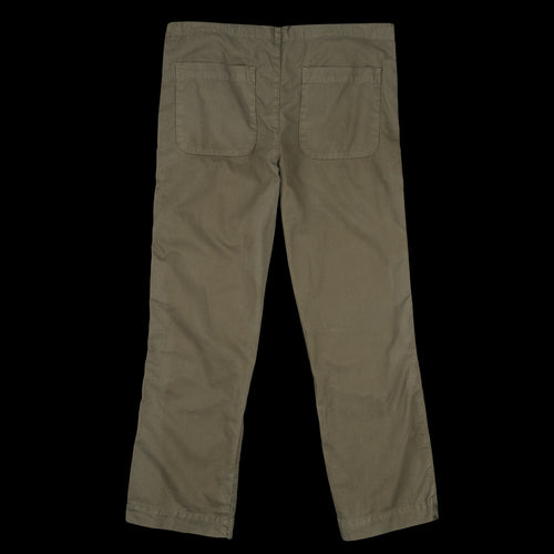 Light Twill Comfort Chino in Olive