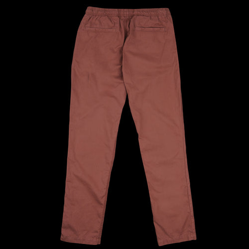 Twill Easy Chino in Nutmeg