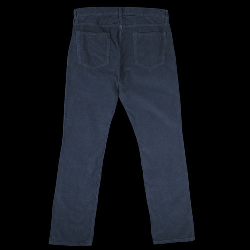 Corduroy Full Jean in Slate
