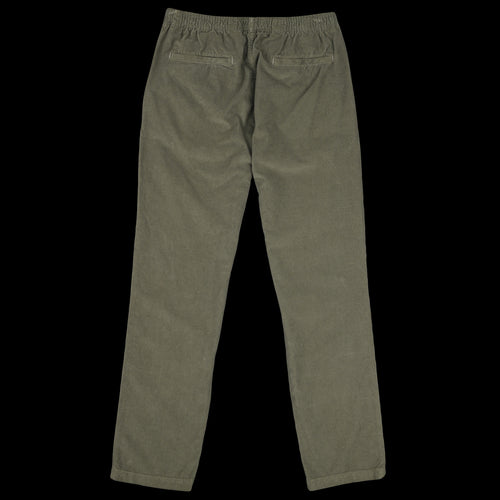 Corduroy Easy Chino in Olive Drab