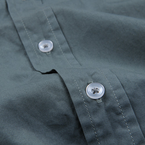 Poplin Easy Shirt in Fern