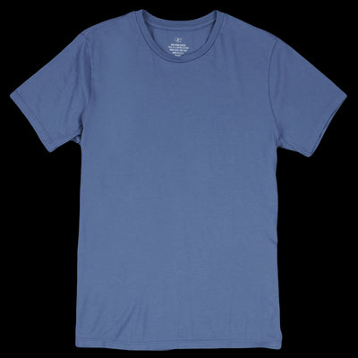 Save Khaki - Supima Crew Tee in Blue