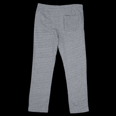 Save Khaki - French Terry Open Bottom Sweatpant in Heather Grey