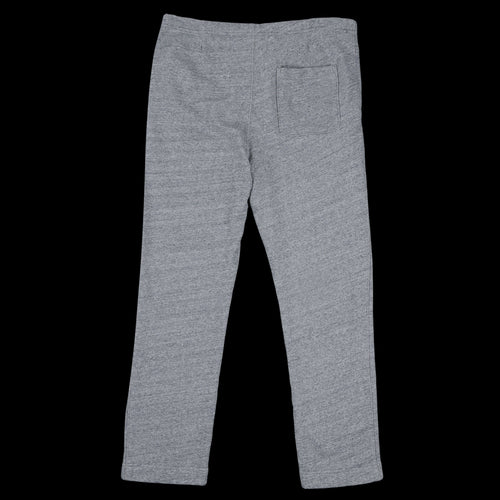 French Terry Open Bottom Sweatpant in Heather Grey